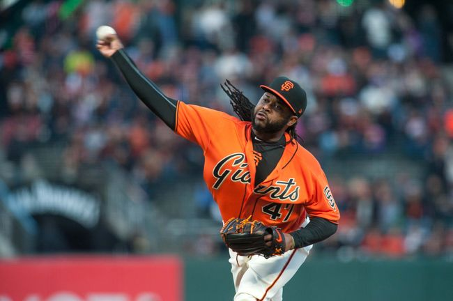 Cueto pitches 7 innings as Giants beat Rockies 8-2