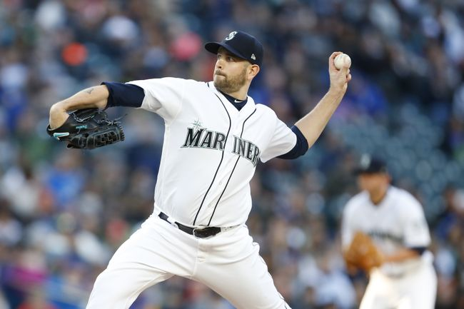 Mariners' Paxton gets scoreless streak to 21 IP, beats Texas