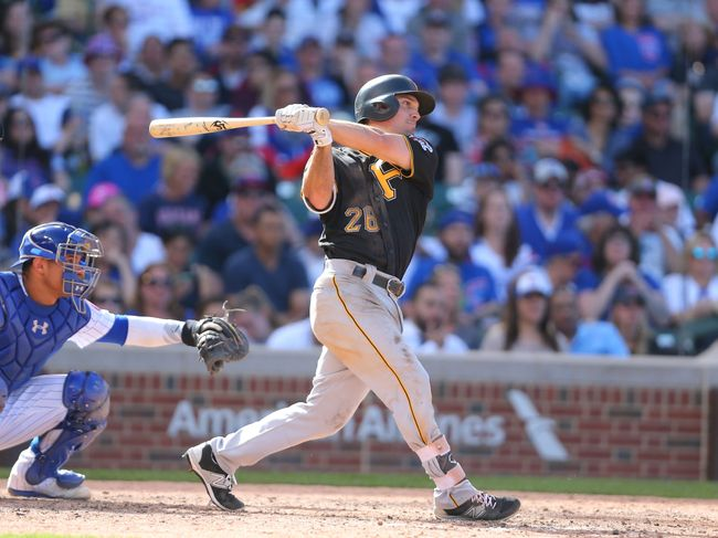Frazier homers, Pirates beat Cubs 6-1 for 3-game sweep