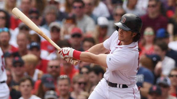 Benintendi leads Red Sox over Rays 4-3 on Patriots' Day