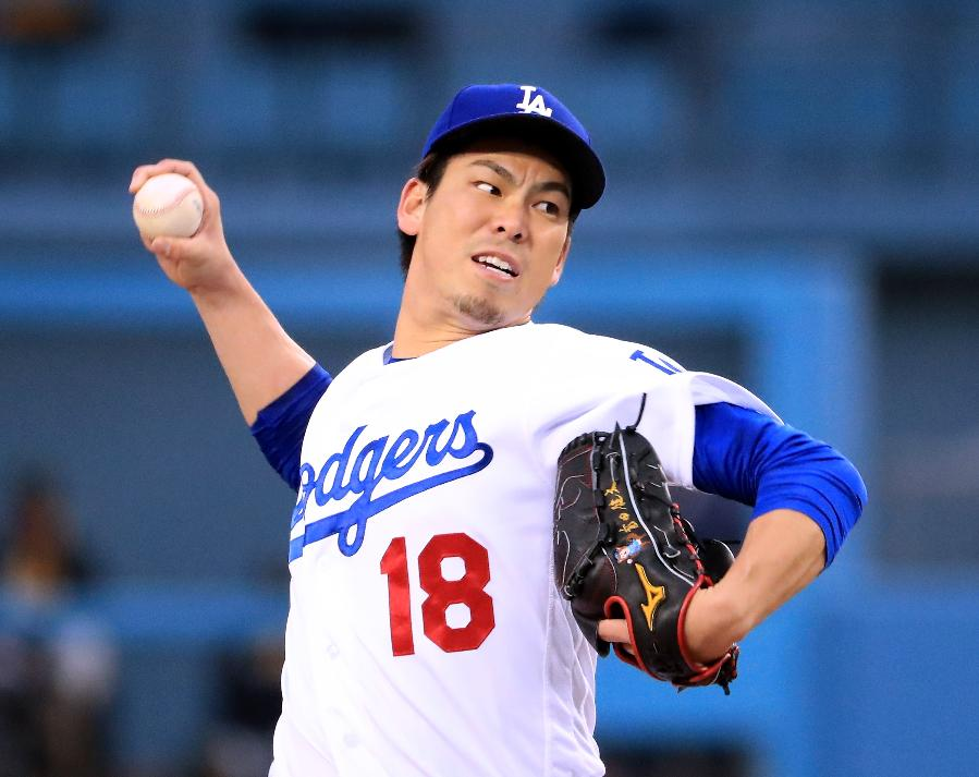 Maeda pitches into 9th; Dodgers finish sweep of Pirates, 5-2
