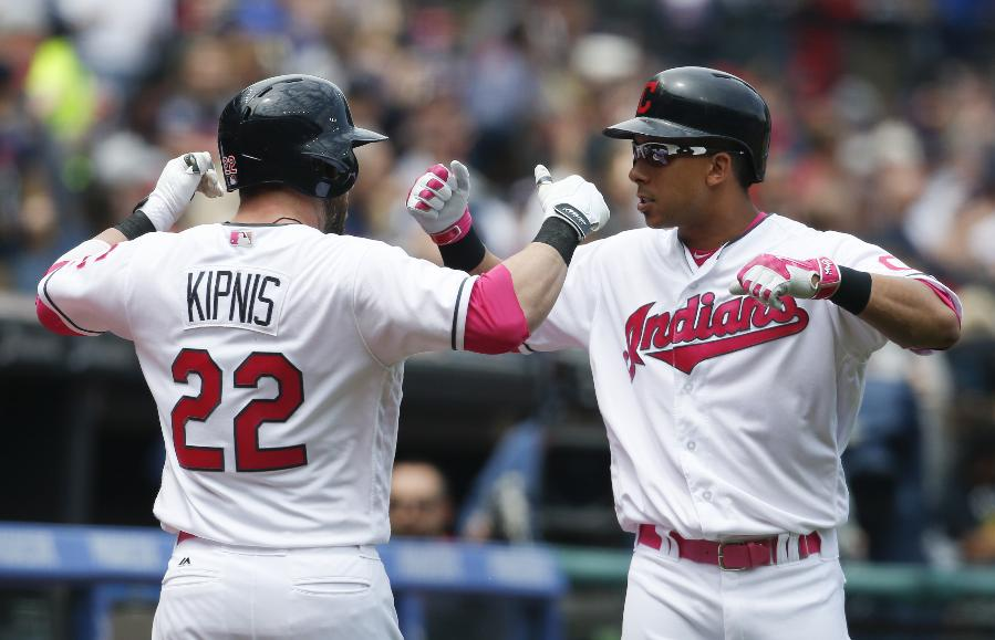Kipnis homers twice in leadoff spot, Indians beat Twins 8-3