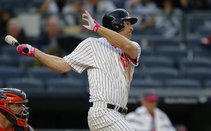 Headley rallies Yankees over Astros 11-6 before Jeter ceremony