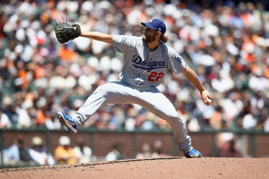 Kershaw earns 20th career win against rival Giants