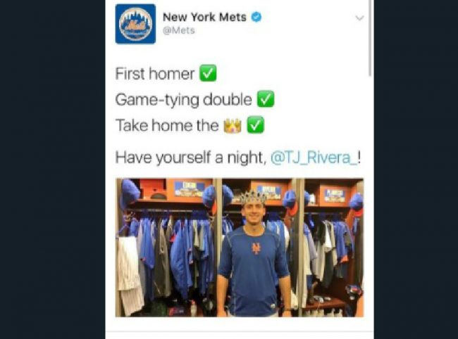 New York Mets tweet — and delete — picture of dildo in player's locker