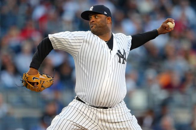 Sabathia wins 5th straight, leads Yankees over Red Sox 8-0