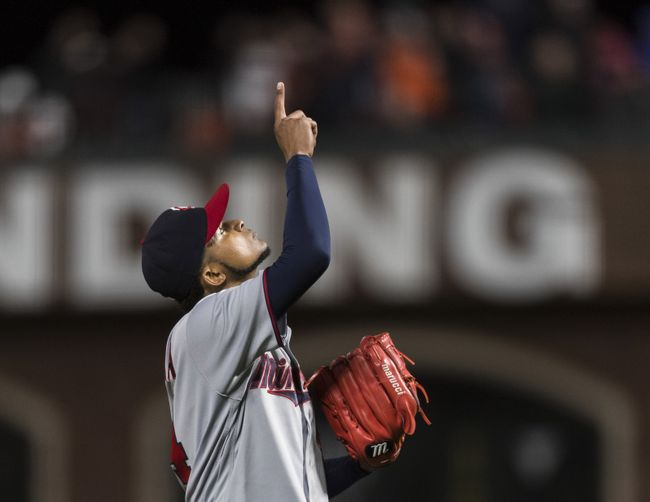 Santana dominates Giants with bat, arm in 4-0 Twins win