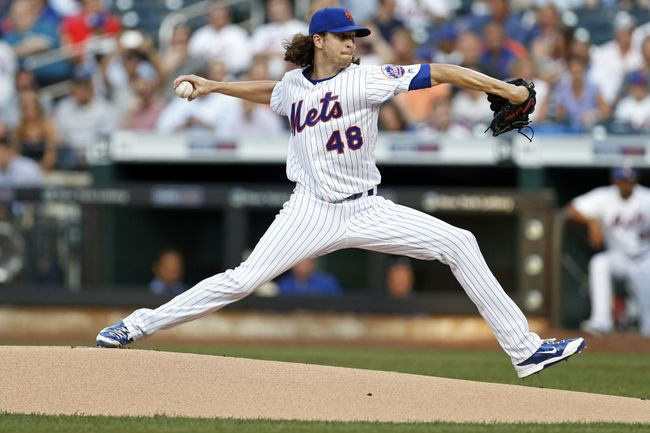 DeGrom, Cabrera lead Mets over Cubs 6-1 for 4th straight win