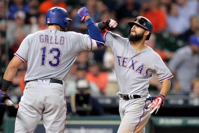 Odor's 2 homers lift Rangers over Astros 4-2