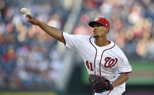 Ross fans 12, Drew homers as Nats beat Orioles 6-1