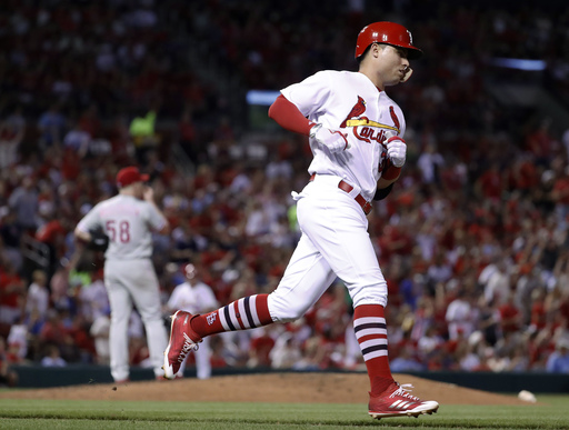 Diaz homers, Cardinals beat Phils to snap losing streak