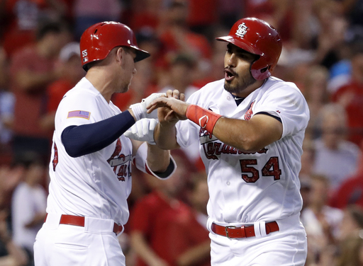 Mejia's first 2 major league hits lead Cardinals past Nats