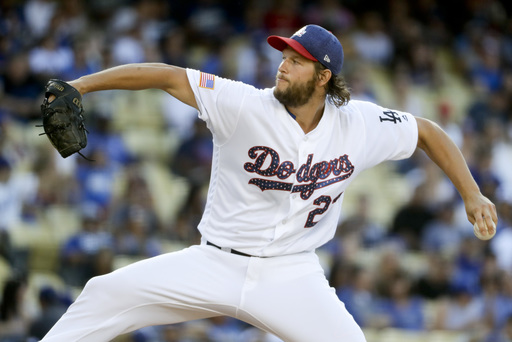Kershaw gets MLB-best 13th win as Dodgers top D-backs 4-3