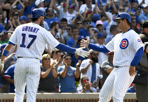 Cubs rally for 7-3 win over Rays