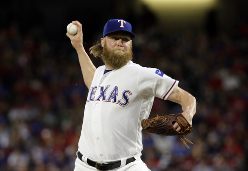 Cashner cools Red Sox; Rangers avoid sweep with 8-2 victory