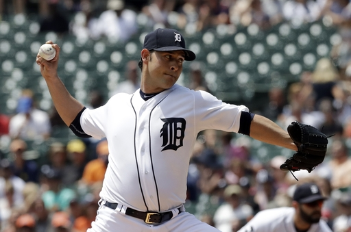 Sanchez sharp again for Tigers in 6-2 win over Giants