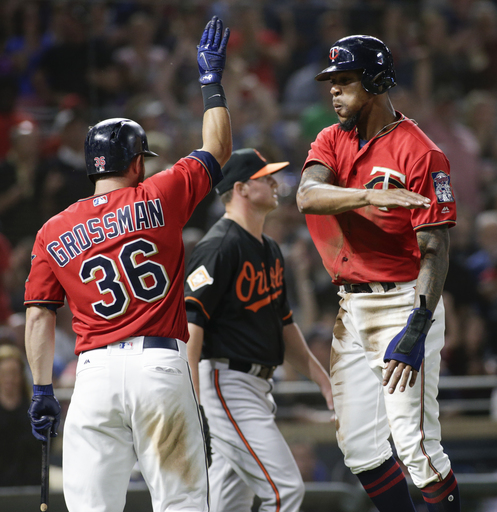 Vargas has 3 hits, 2 RBIs as Twins beat Orioles 9-6