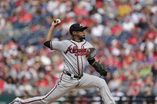 Teheran leads Braves in 13-0 win over Nationals