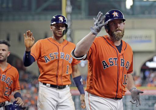 McCann, Gonzalez power Astros past Berrios, Twins 10-5