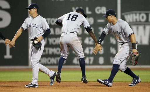Yankees outlast Red Sox in 16; longest game between rivals at Fenway since '66