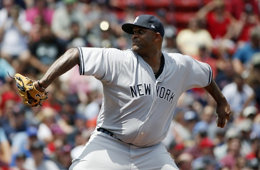 Sabathia pitches Yankees over Red Sox 3-0 in DH opener