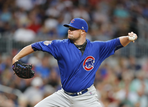 Jon Lester dominant as Cubs hold off Braves 4-3