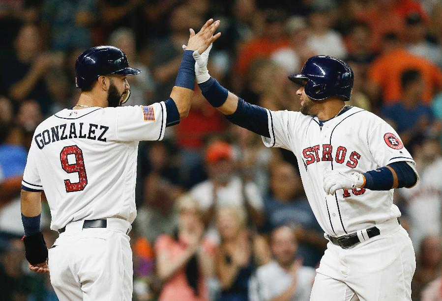 Gurriel drive in 4 runs as Astros get 7-6 win over Yankees