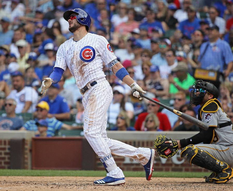 Bryant hits 2 HRs, Rizzo connects as Cubs beat Pirates 6-1