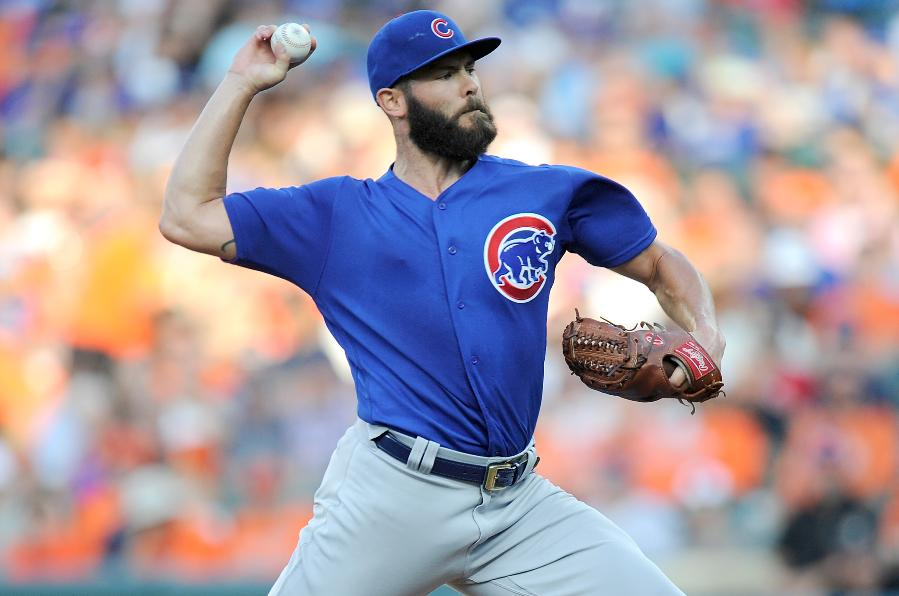 Arrieta beats former team, pitches Cubs over Orioles 10-3