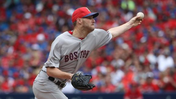Sale pitches 7 shutout innings, Red Sox beat Blue Jays 7-1