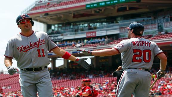 Zimmerman homers, Nationals beat Reds 6-1 for 4-game sweep