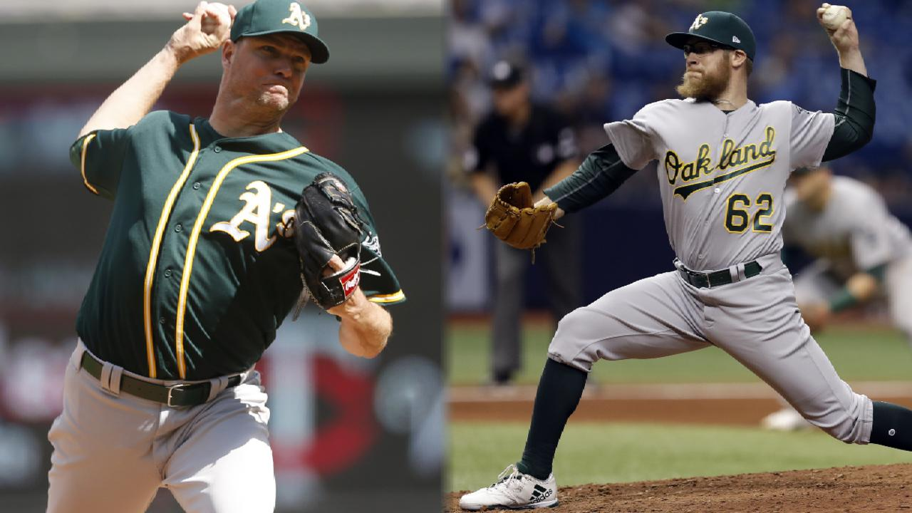 Nats acquire Doolittle, Madson from A's for Treinen, 2 prospects
