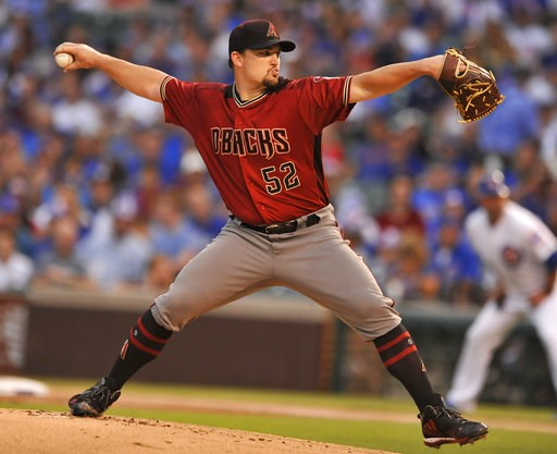 Godley dominates over 6 innings, D-backs beat Cubs 3-0