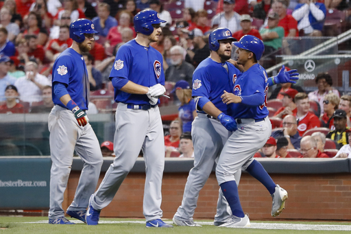 Schwarber homers, Cubs stay hot with 9-3 win over Reds