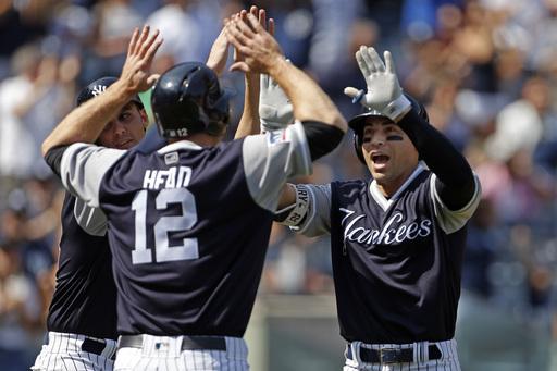 Bird, Ellsbury lead Gray, Yankees over Mariners 6-3