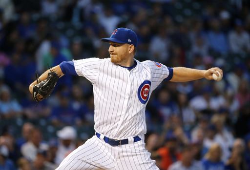 Montgomery pitches Cubs past Pirates 6-1