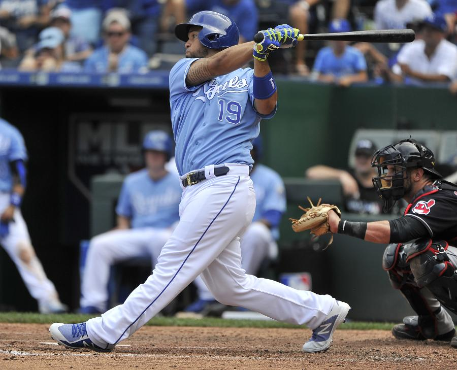 Cuthbert, Escobar lead Royals to 7-4 victory over Indians