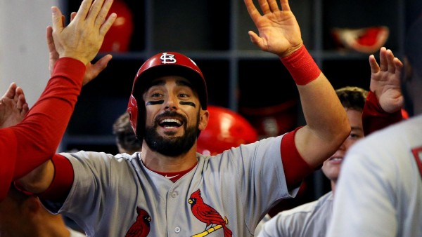 Matt Carpenter homers, Cardinals beat up on Brewers 10-2
