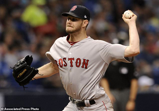 Sale strikes out 13 Rays, Red Sox win seventh straight, 2-0