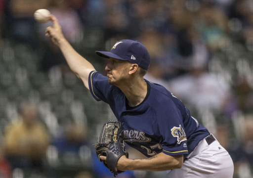 Davies wins 16th, Brewers beat Nats 6-3