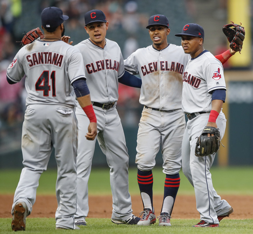 Bauer sharp again as Indians win 12th straight