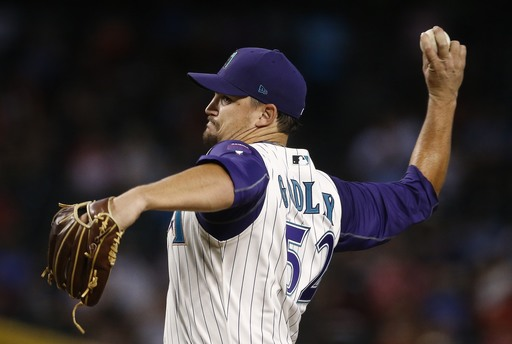 Pollock, Martinez lead Godley, D-backs over Rockies 7-0