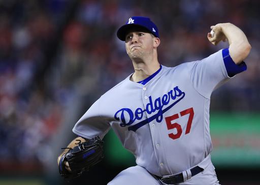 Wood, Dodgers bats overpower Nationals 7-0
