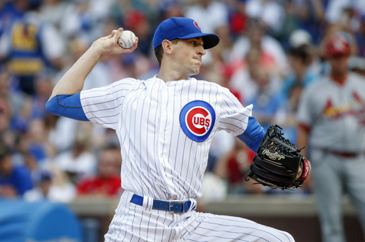 Hendricks, Russell lead Cubs over Cardinals 4-1