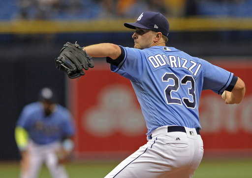 Red Sox get one hit off Odorizzi in 3-2 loss to Rays