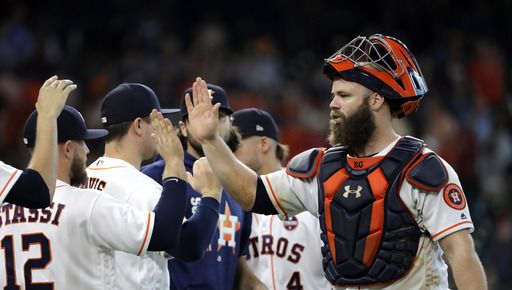 Gattis, Morton help Astros win 6-2, Angels lose 6th in row