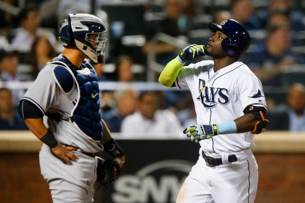 Hechavarria HR leads Rays over Yankees 2-1 at Mets' park