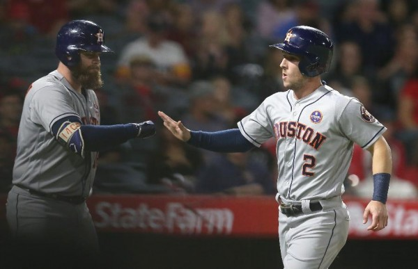 Astros trim magic number to 3 with 5-2 win over Angels