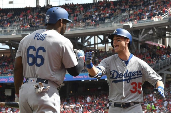 Bellinger hits 38th HR to help Dodgers beat Nats 3-2