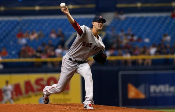 Porcello sharp, Betts homers to lift Red Sox over Rays 3-1
